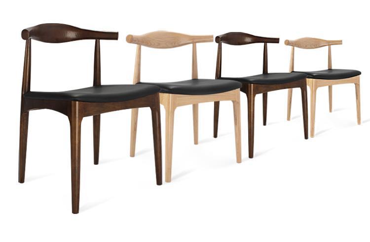 全實木牛角椅 6
