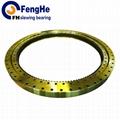 Single-row crossed roller slewing bearing
