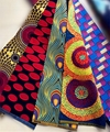 African wax prints fabric for wedding dress with wholesales price sale 1