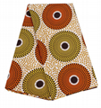 High quality 100% polyester real african wax prints fabric manufactures of chang 4