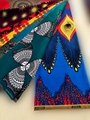 High quality 100% polyester real african wax prints fabric manufactures of chang 5