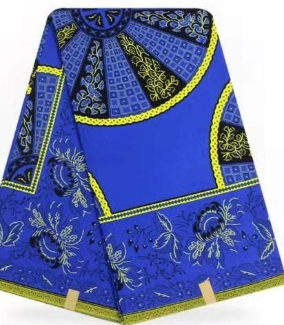 Wholesale new design factory offer directly classical African printed fabric 4