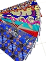 Polyester fabric printed african wax prints fabric african fabrics for sale 2