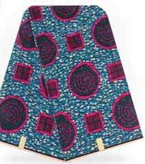 Factory price  100% polyester veritable block prints african wax prints fabric