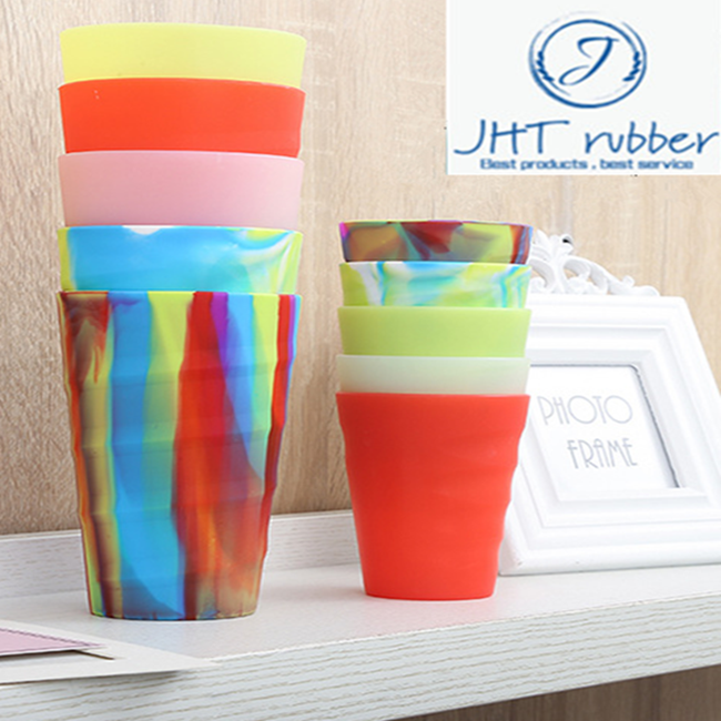 heat resistance high quality silicone food grade cup 3