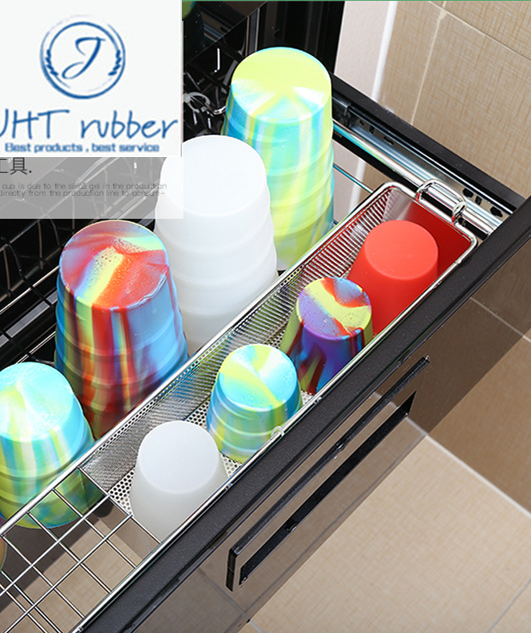 heat resistance high quality silicone food grade cup 4