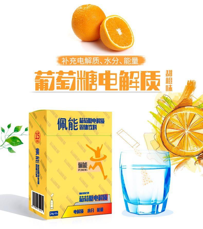 葡萄糖電解質固體飲料 1