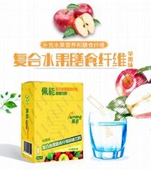 復合水果膳食纖維固體飲料