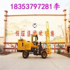 恒旺HW20多功能装载护栏打桩机