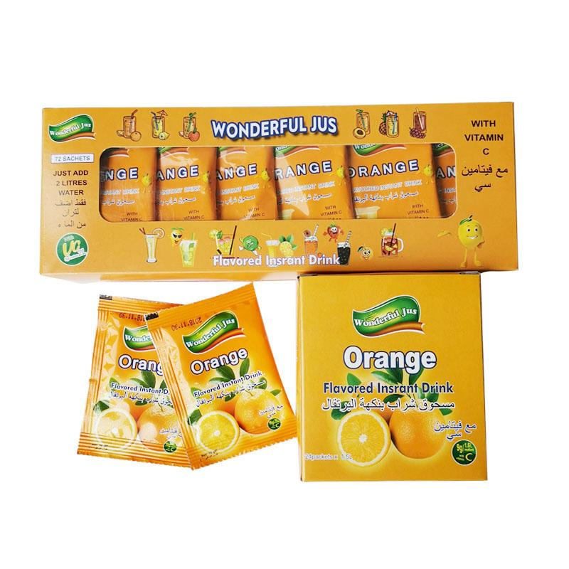 Hot Sell Instant Orange Juice Powder Drink 5