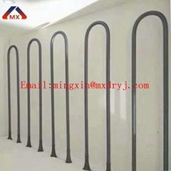 1800 Degree U MoSi2 (Molybdenum Disilicide) electric furnace heating eleme