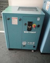 万兹莱7.5kw永磁变频节能空压机