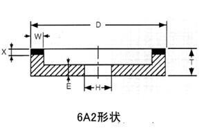 3U牌磨金刚石刀具陶瓷砂轮 4