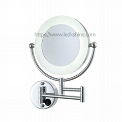 Wall mounted LED mirror