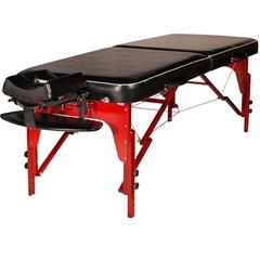 Master Massage 70cm Memory Foam MONROE Portable Massage Table Package