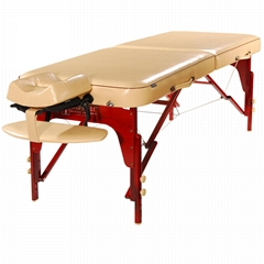 Master Massage 70cm Memory Foam MONROE Portable Massage Table