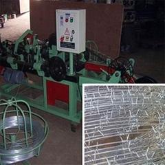 CS-B Single Twisted Barbed Wire Making Machine