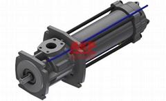 CNC立卧加工中心主轴中心出水高压机床冷却泵YPWO-025#6A-R008-70-0G