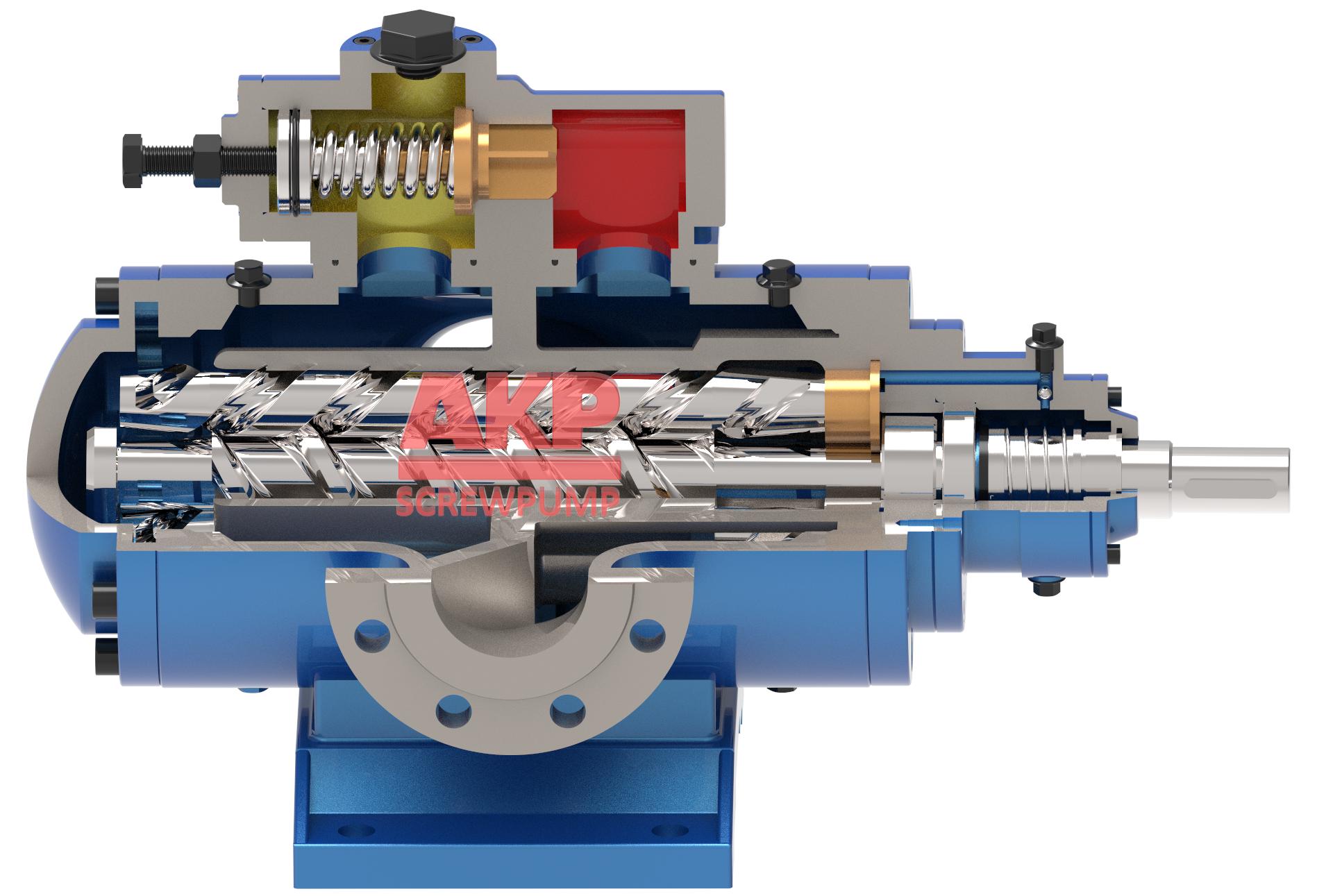钢热连轧机润滑油泵SNH440R46U12.1W21 2