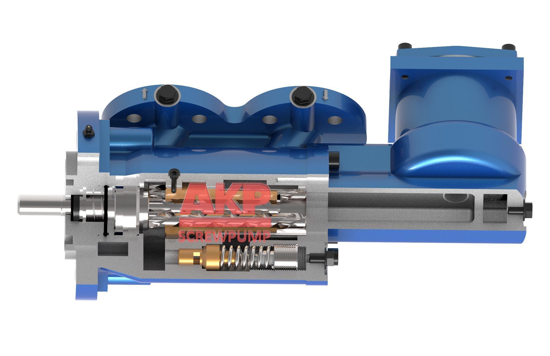 船用循环硫化床锅炉供油泵SPF20R38G10FW21 2