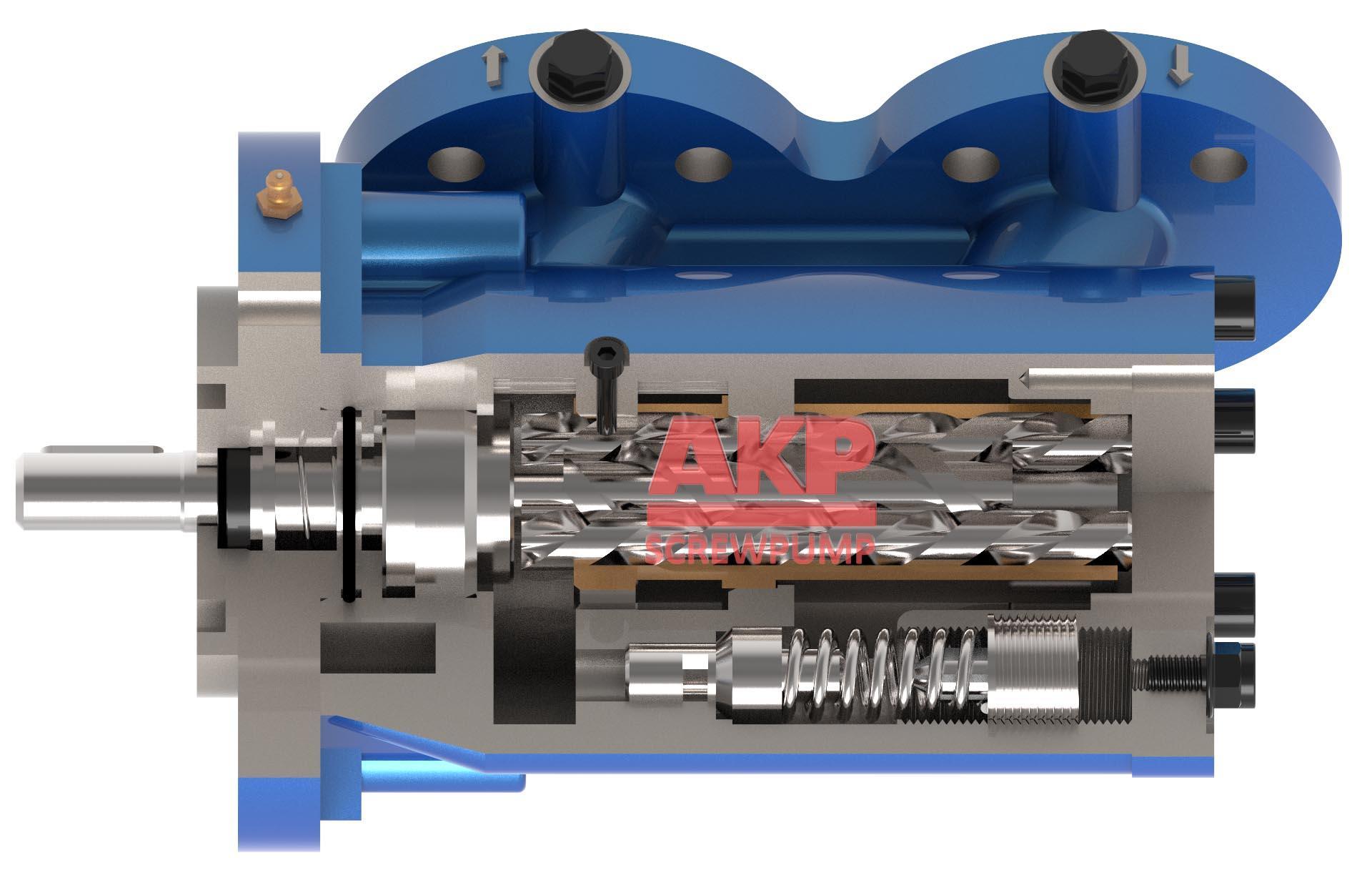 船用循环硫化床锅炉供油泵SPF20R38G10FW21 4