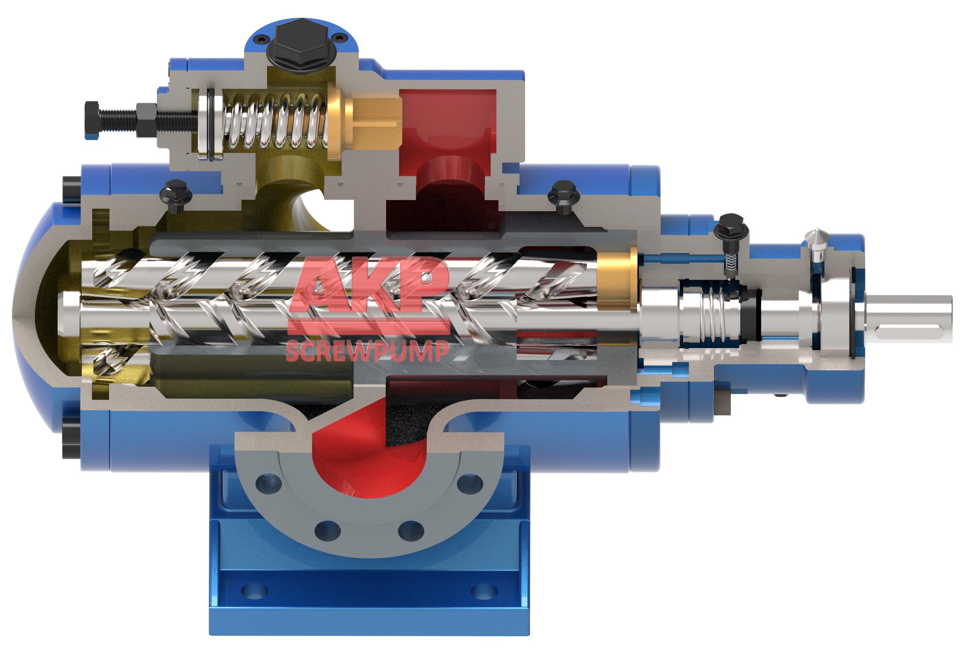 HSNH280-46冷轧卷板稀油润滑轧机油泵 1