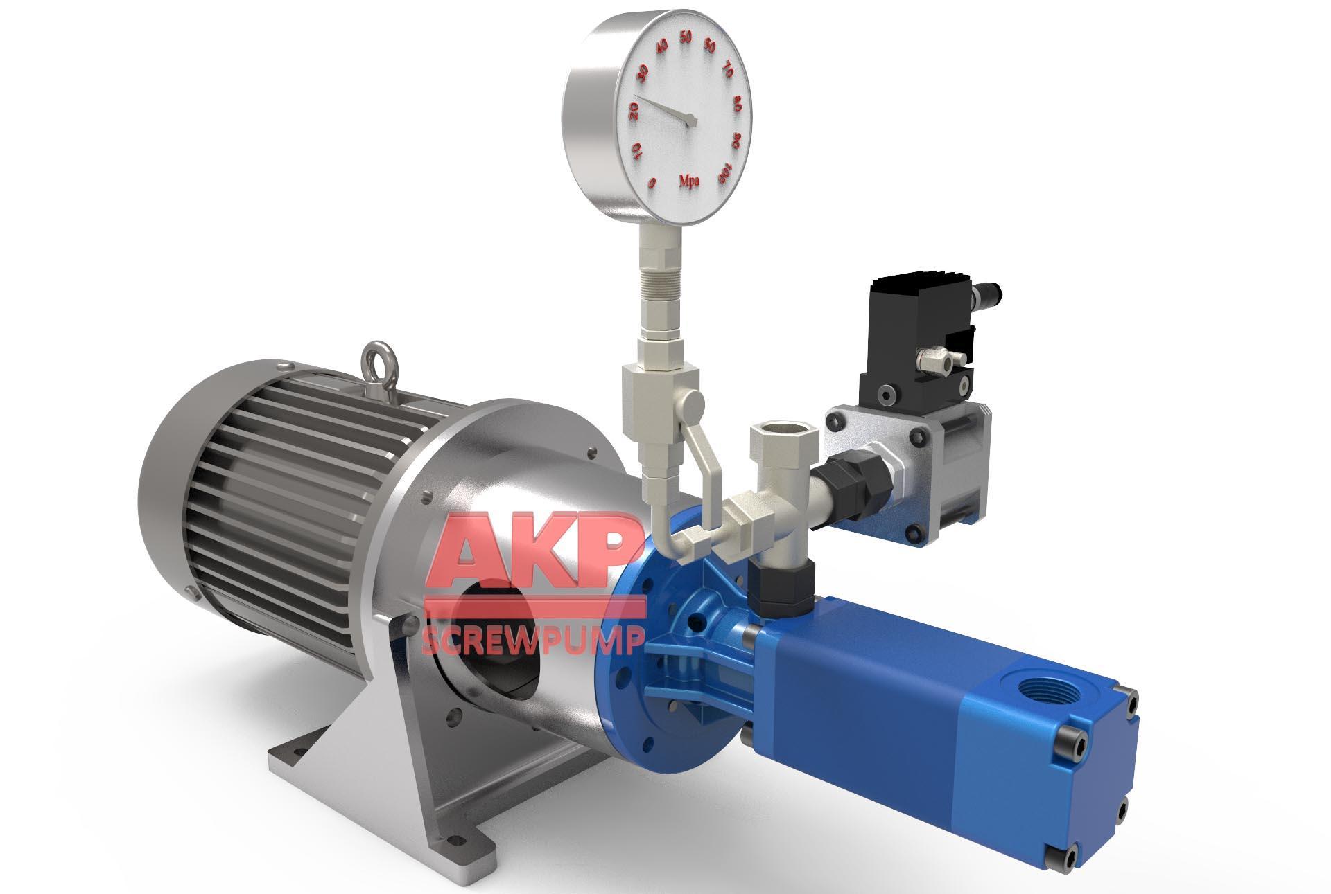 高压机床冷却泵ATS25-60-S-L-A-G-KB主轴中心出水刀具冷却排屑断屑现货 1