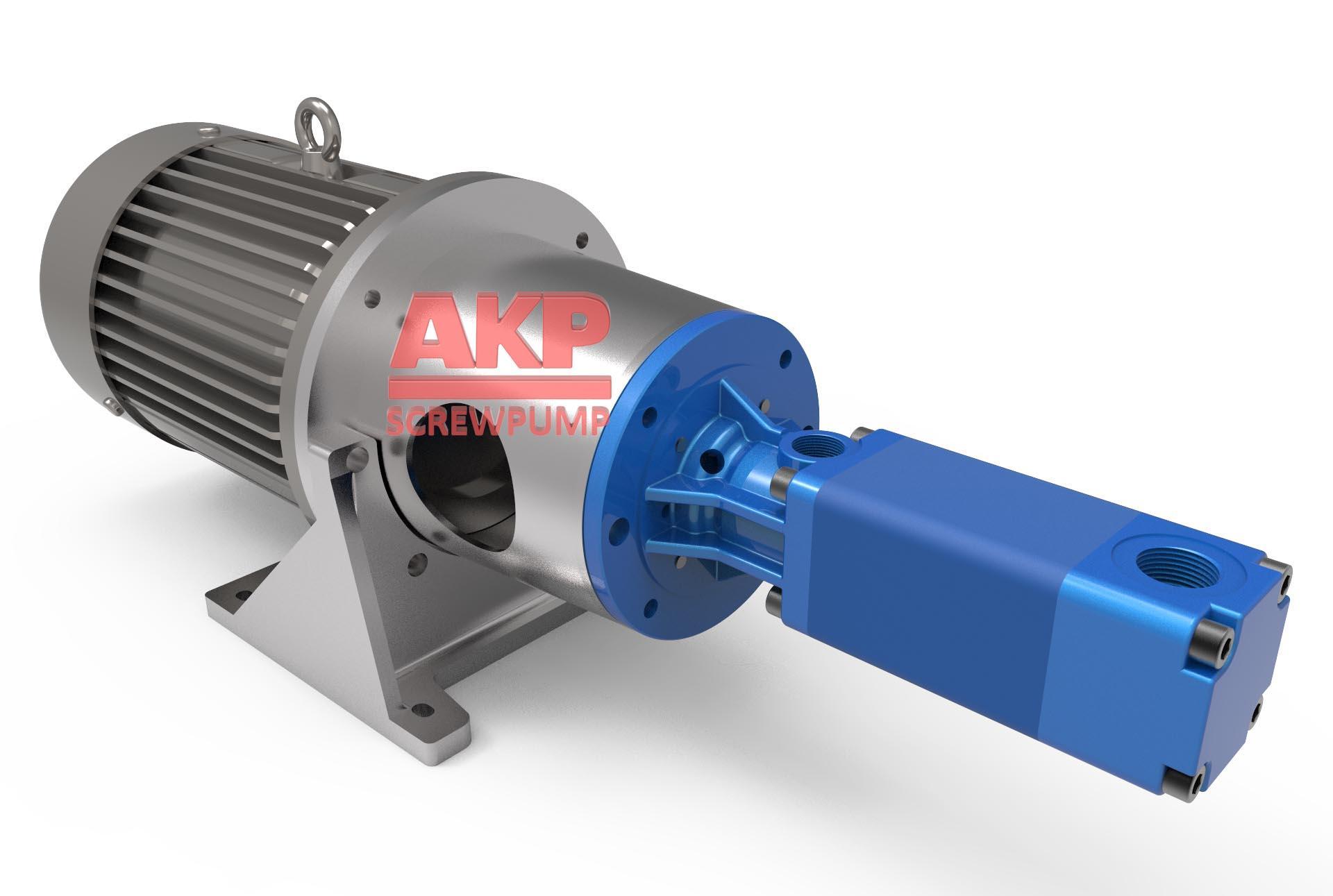 ATS32-64-T-G深孔加工刀具冷却专用高压机床冷却泵 1