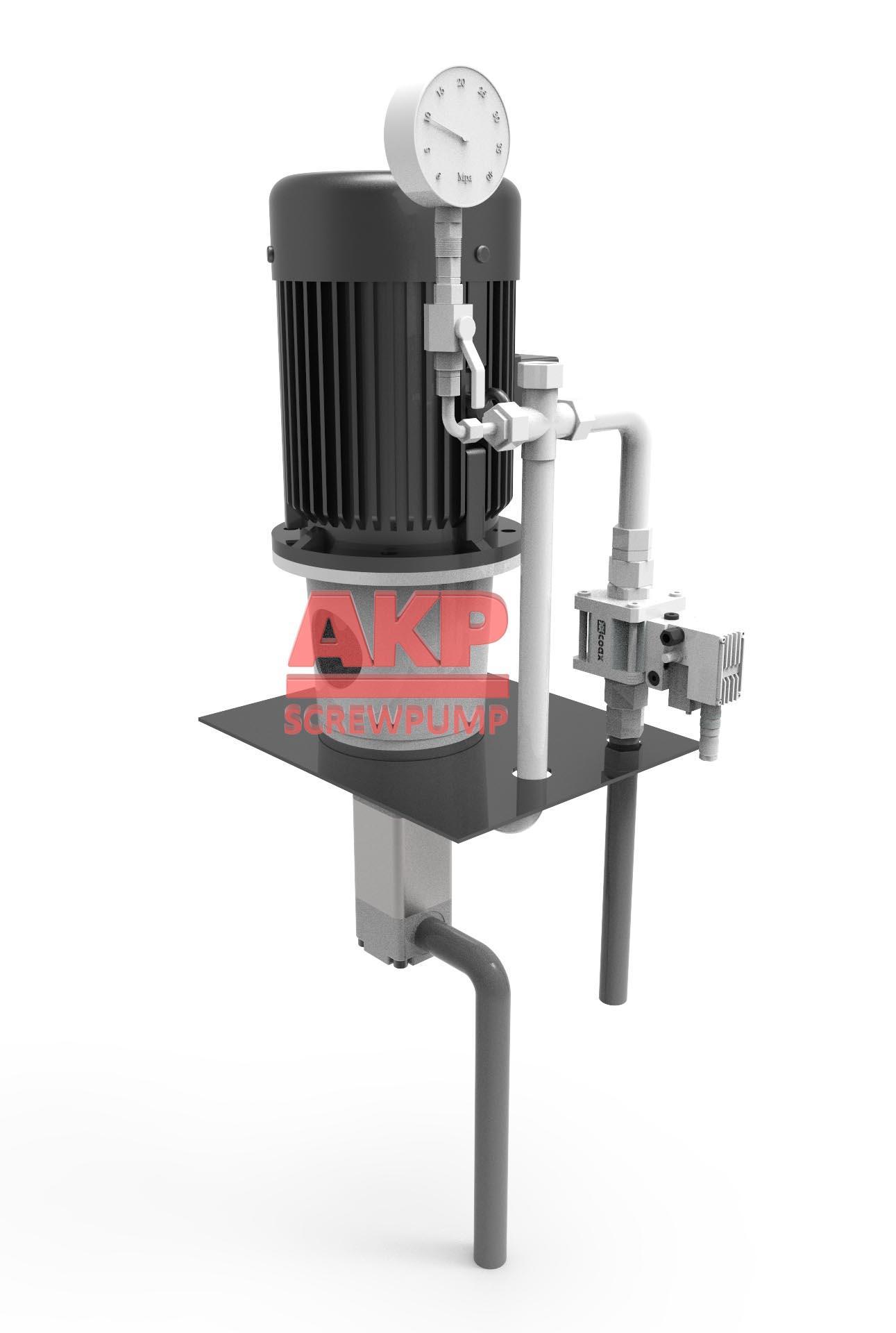 ATS32-64-T-G深孔加工刀具冷却专用高压机床冷却泵 3