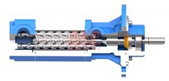 KNOLL高壓機床冷卻泵KTS40-60-T-G配套高速臥式加工中心加工螺旋傘齒輪