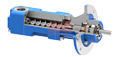 数控车床高压排屑断屑工件冲洗用BFS 140/70-G高压机床冷却泵 2
