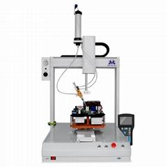 Desktop liquid silicone dispensing machine with foot type manual switch glue mac
