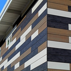 HPL and phenolic compact laminate wall cladding panel