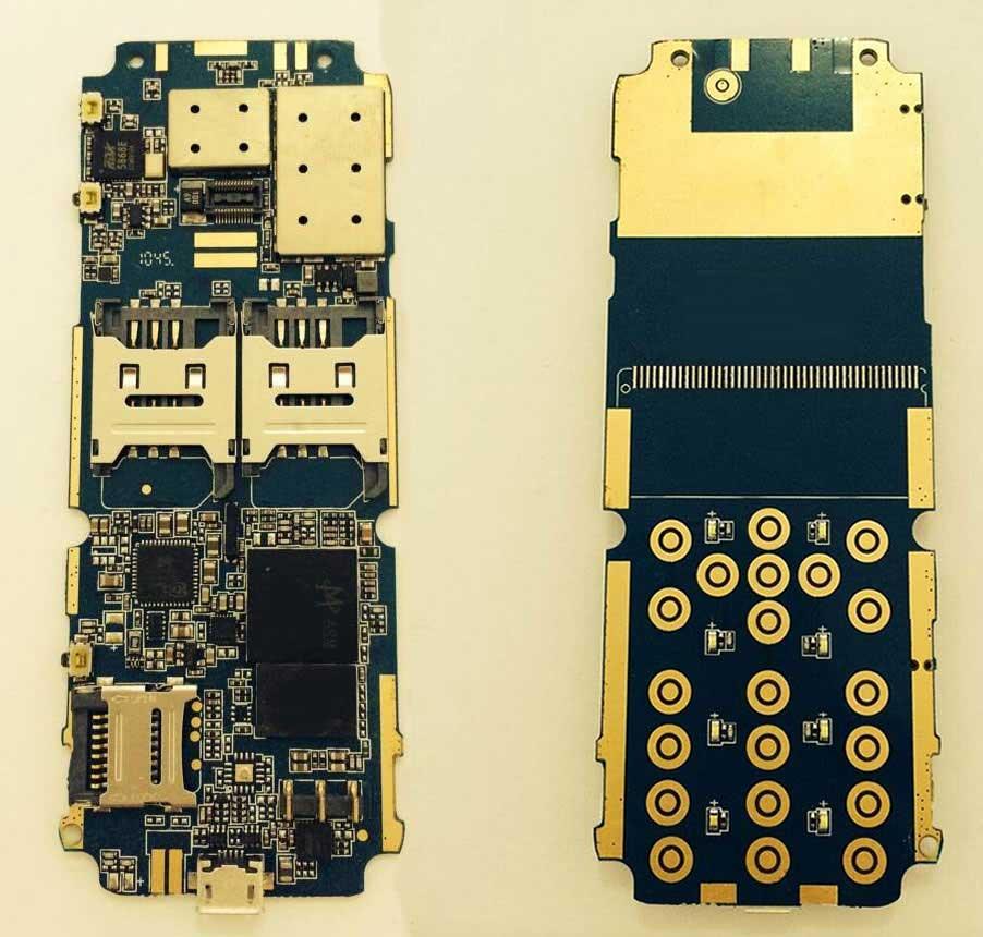 MTK 6276 帶標準按鍵的WCDMA 3G功能機 1