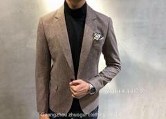 男裝西服長袖外套秋裝韓版時尚商務休閑西裝