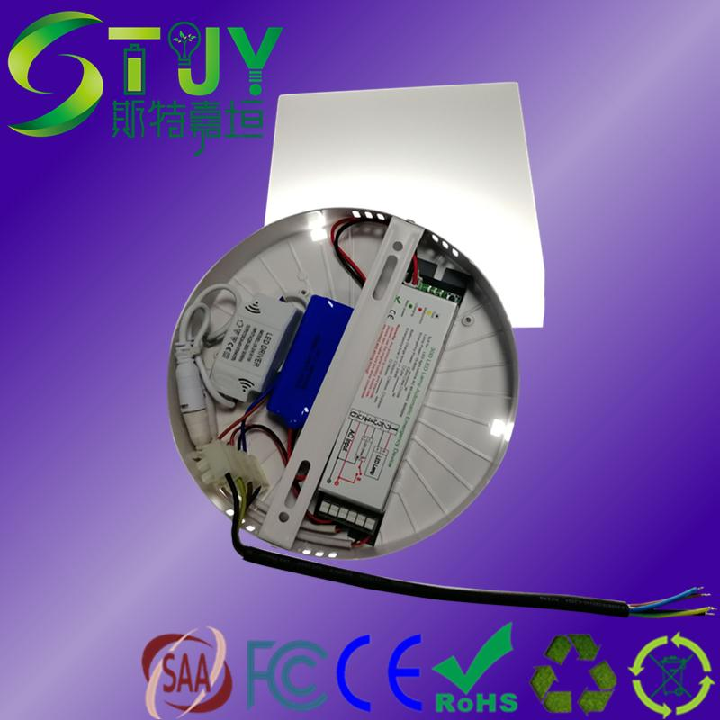 LED圓形面板燈降功率應急電源一體化 1