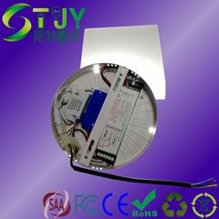 LED圓形面板燈降功率應急電源一體化