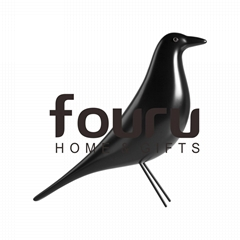 2019 New Arrivals Nordic Songbird Wood Home Decoration Accessories Eames House B