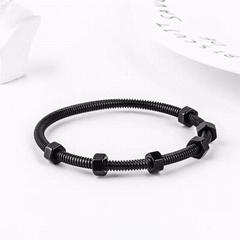 Hot Fashion Titanium Steel Jewelry Twist Stainelss Steel Screw Bracelet Trendly