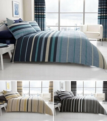 Block And Stripe Duvet Cover Quilt Cover Bedding Set Single Double King