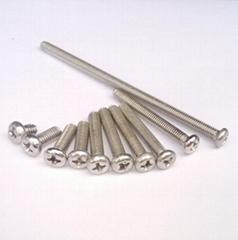 不鏽鋼304螺絲 圓頭螺絲 十字螺絲