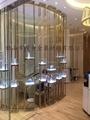 訂製茶餐廳金屬不鏽鋼隔斷 3