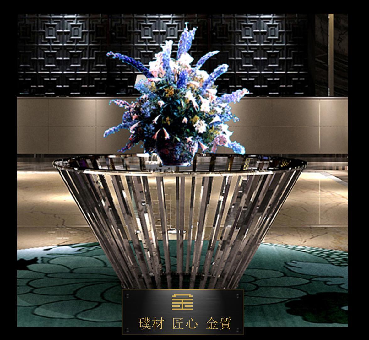 定製酒店大堂景觀花壇(台) 2