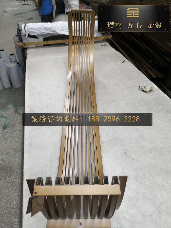 訂製氟碳漆鋁花格 2