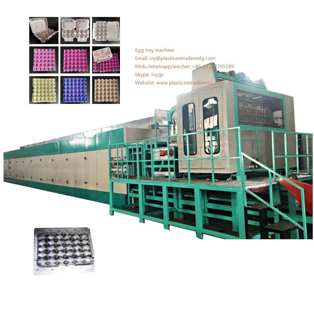DY-4000 Pulp Egg Tray forming Machine 1