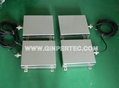 Ultrasonic cleaning  immersion transducer box