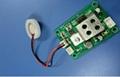 Ultrasonic humidifier atomization