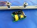 Ultrasonic pipe water treatment