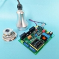 Ultrasonic beauty cavitation transducer and PCB