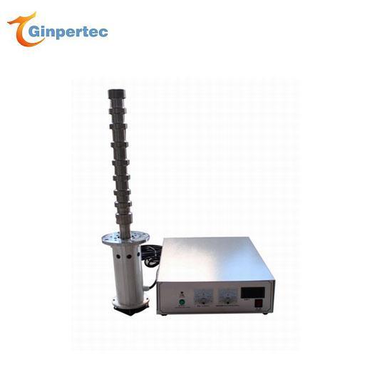 Ultrasonic pulverization, extraction, emulsification, stirring